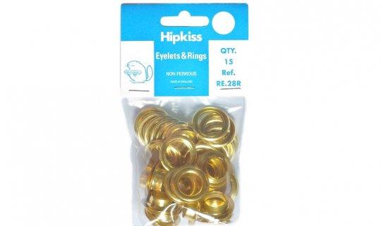 Brass Eyelet Easy Pack - 13mm