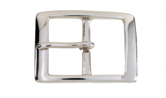 Nickel Plated Brass Belt Buckle No.G629n