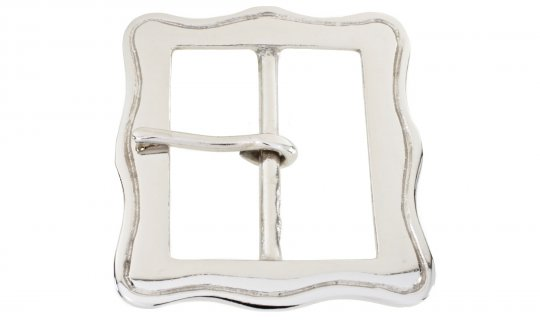 Belt Buckle Nickel Plated Brass No.G837N