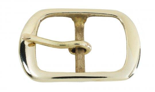 Belt Buckle Nickel Plated Brass No.G525