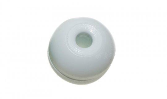 White Shot Cord Ball End