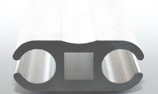 Big Double Barrel Section Keder Rail KEDERAIL0013DB