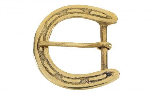 Solid Brass Belt Buckle No.G606