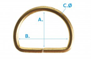 D-Ring-Open-G75-Brassed