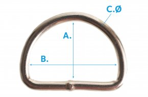 D-Ring-Welded-G75-Nickel