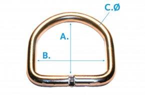D-Ring-Welded_Elongated-G86-Brass