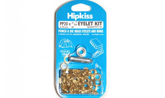 Brass Eyelet Kit Easy Pack - 6mm