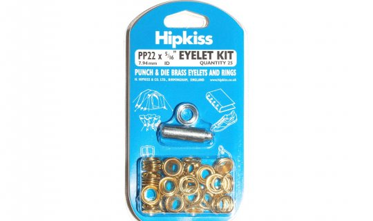 Brass Eyelet Kit Easy Pack - 8mm