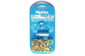Brass Eyelet Kit Easy Pack - 10mm