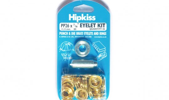 Brass Eyelet Kit Easy Pack - 11mm