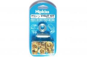 Brass Eyelet Kit Easy Pack - 11mm