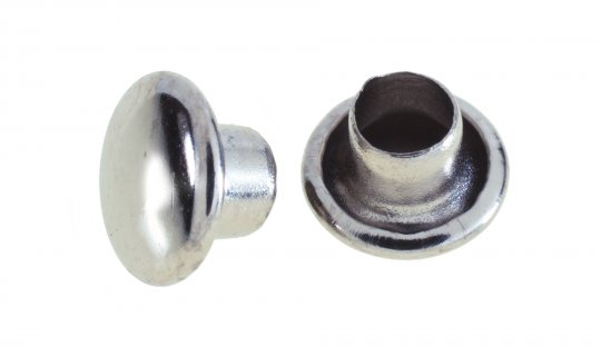 Double Domed Cap Only - 9mm No.RIVCAP048