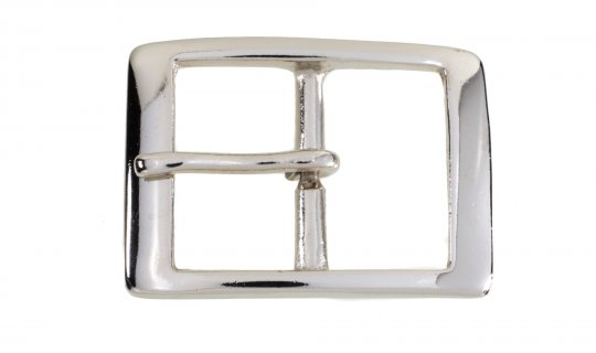 Nickel Plated Brass Belt Buckle No.G629n
