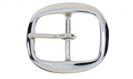 Solid Brass Nickel Plated Buckle No.G633N