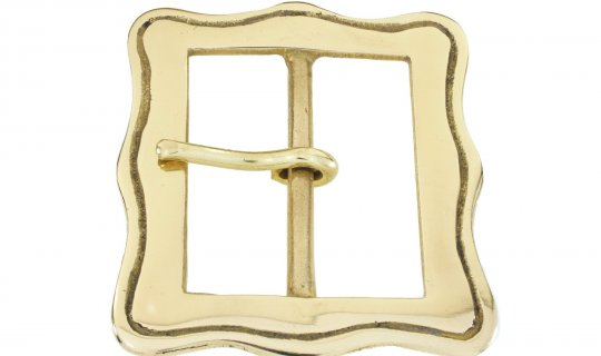 Belt Buckle Solid Brass No.G837
