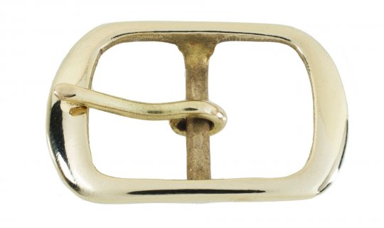 Belt Buckle Nickel Plated Brass No.G525
