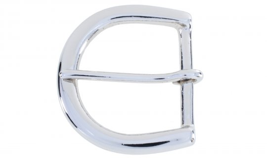 Nickel Plated Brass Belt Buckle No.G6721N