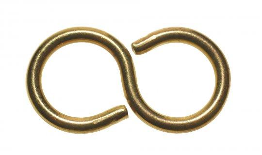 S Hook Brass 543112B