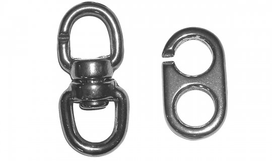 Heavy Duty Inglefield Flag Swivel Set K2090 - Version 2