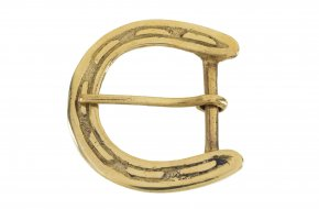 Solid Brass Belt Buckle No.G606