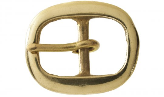 Belt Buckle Solid Brass No.G301