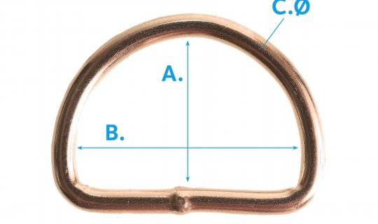 D-Ring-Welded-G75-Brass