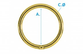 O Ring Welded EB No.G76W-B