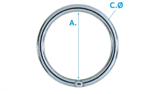 O Ring Welded NP No.G76W-N